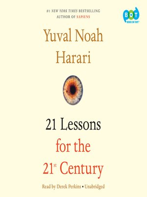 cover image of 21 Lessons for the 21st Century